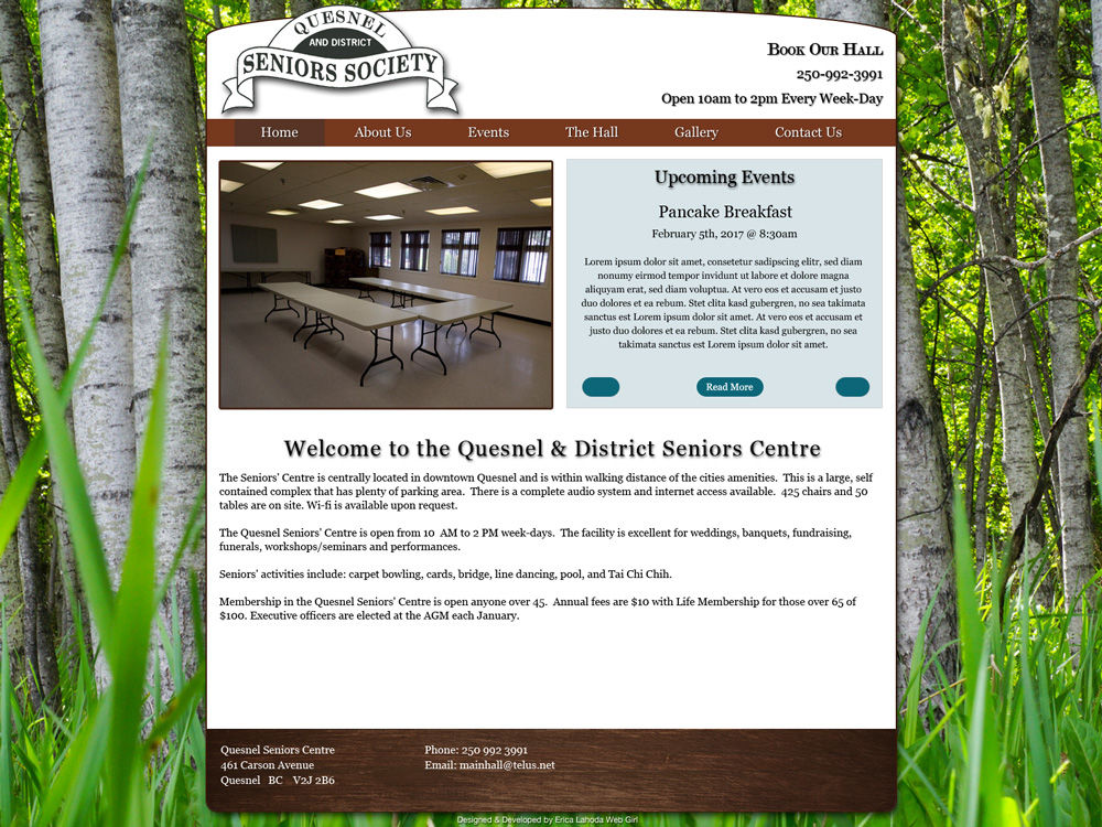 Quesnel & District Seniors' Society
